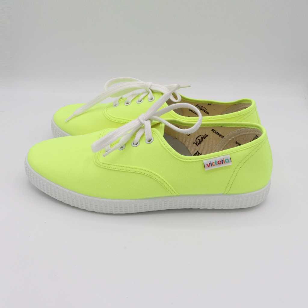 Teniși galben verde electric