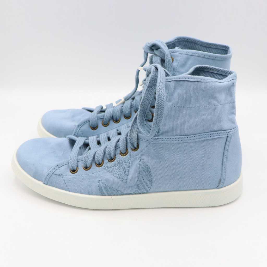 Teniși înalți bleu